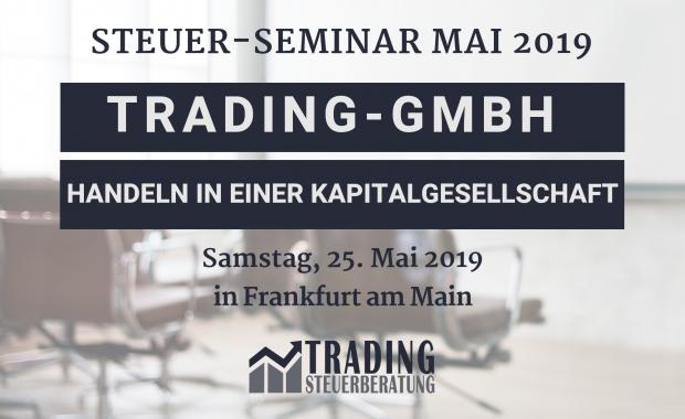 Trading-GmbH – Handeln in einer Kapitalgesellschaft