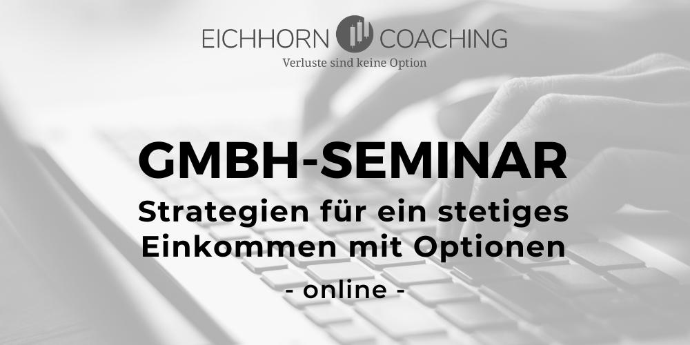 GmbH Seminar online